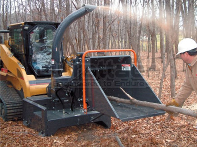 5 Quot Erskine Hydraulic Skid Steer Wood And Brush Chipper