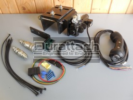 Universal Third Function Diverter Valve Hydraulic Kit, Less Hoses