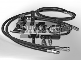 Construction Attachments Dedicated Third Function Hydraulic Valve Kit, Includes Hoses, Up To 14 GPM