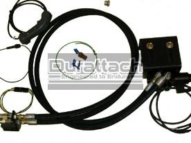 Construction Attachments Universal Third Function Diverter Valve Hydraulic Kit