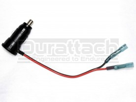 "Auxiliary 12V ""Cigarette Lighter"" Power Plug Wire Harness Adapter Kit"