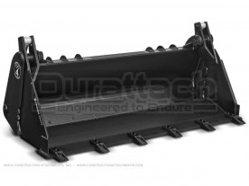"67"" Construction Attachments 4-in-1 Multi-Purpose Low Capacity Bucket Model 1MPLC67 (shown with optional bucket teeth)"