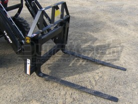 "42"" 1,800 lbs. Compact Tractor Pallet Forks Model 1PFCMP42"