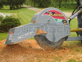 Baumalight Stump Blaster 3-Point Tractor Stump Grinder Model 3P34