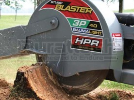 Baumalight Stump Blaster 3-Point Tractor Stump Grinder Model 3P40