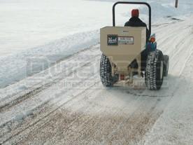 Kasco / Herd 3-Point Tractor Salt & Wet Sand Broadcast Spreader Model 5.5
