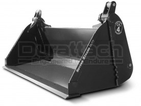 "76"" Severe Extreme Duty 4-in-1 Low Profile Extended Bottom Bucket Model 1MPSXDEB76"
