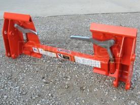 Universal Skid Steer Adapter for Kubota TL720 Loaders Model QA-KU4