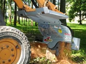 "18"" Baumalight Skid Steer Hydraulic Stump Grinder Model S18"
