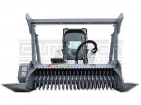 "60"" Baumalight Skid Steer Brush Mulcher Model MS560"