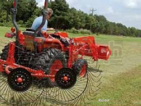 Befco 3-Point Tractor 4-Wheel V-Rake Model RS2-04V