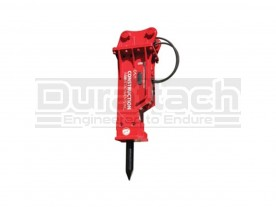 Construction Attachments Hydraulic Breaker for 3,000 - 8,000 lbs. Host Machines Model CAL500B