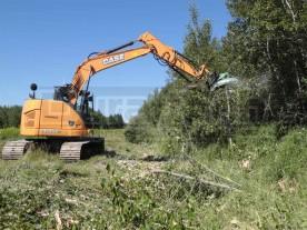 """50"""" Baumalight Excavator Rotary Brush Cutter"""