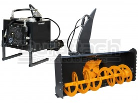 "73"" Erskine 2020 Snowblower & Hydraulic Power Unit Model HP15 / HP20 / HP24"
