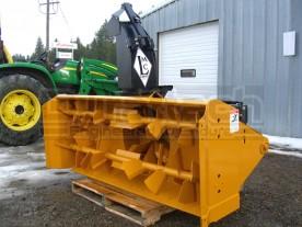 "66"" Lorenz Skid Steer Hydraulic Snow Blower Model 6610 (current model has 4-blade center fan)"