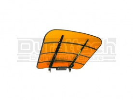 Kubota Orange TuffTop Tractor & Mower Canopy