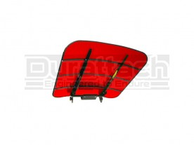 "44"" x 44"" Red TuffTop Tractor & Mower Canopy Model SCR44 - FREE Shipping!"
