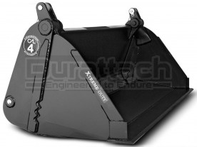 """80"""" Construction Attachments Severe Extreme Duty High Capacity 4-in-1 Bucket Model 1MPSXDHC80"""