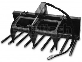 "60"" CID Compact Tractor Manure Fork Grapple Model CTMFG60"