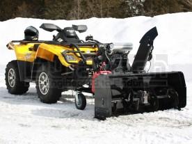 "48"" Bercomac Versatile Plus ATV Snow Blower Model 700580-3-20H-EPA, Honda GX630 Engine"