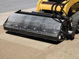 "72"" Erskine Skid Steer Vibratory Packer Roller Compactor"
