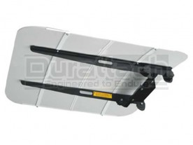 White TuffTop Tractor & Mower Canopy