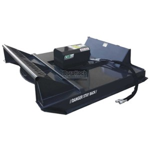 """60"""" Heavy Duty Skid Steer Brush Cutter with 3 Blades 14-20 GPM (Model HDBCNS60-3)"""