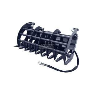 "96"" X-treme Duty Grapple Rake with Teeth (Model: XGRT96)"