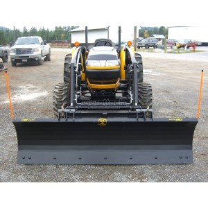 "60"" Construction Attachments Compact Tractor Snow Blade Model 1SNBCMP60MS"