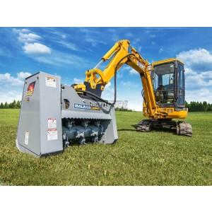 """30"""" Baumalight Mini-Excavator & Excavator  Brush Mulcher Model MX330"""