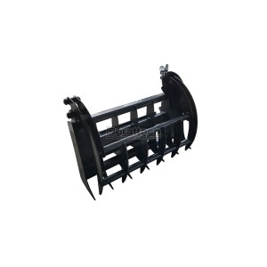 "48"" CID Mini Skid Steer Grapple Rake Unit for Dingo or MT50"
