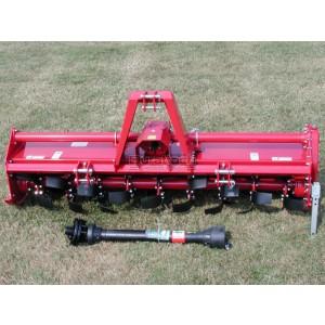 "60"" Farm-Maxx Gear Drive 3-Point Tractor Rotary Tiller Model FTL-60G"