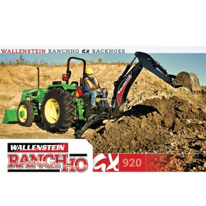 Wallenstein Ranch-Ho Backhoe Model GX920