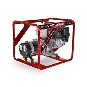 Wallenstein 5000 Watt Generator - Home Backup & Jobsite Model WCC5000
